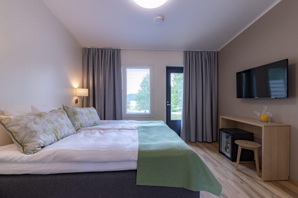 Hotellin majoitustilat parivuode majoitusrakennus aluerakentaminen toimitilarakentaminen.