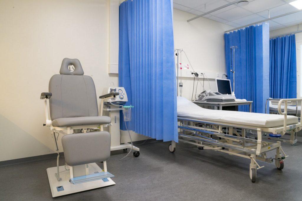 terveysasema väistötilat terveydenhuollon toimitilarakentaminen tarkkailuhuone