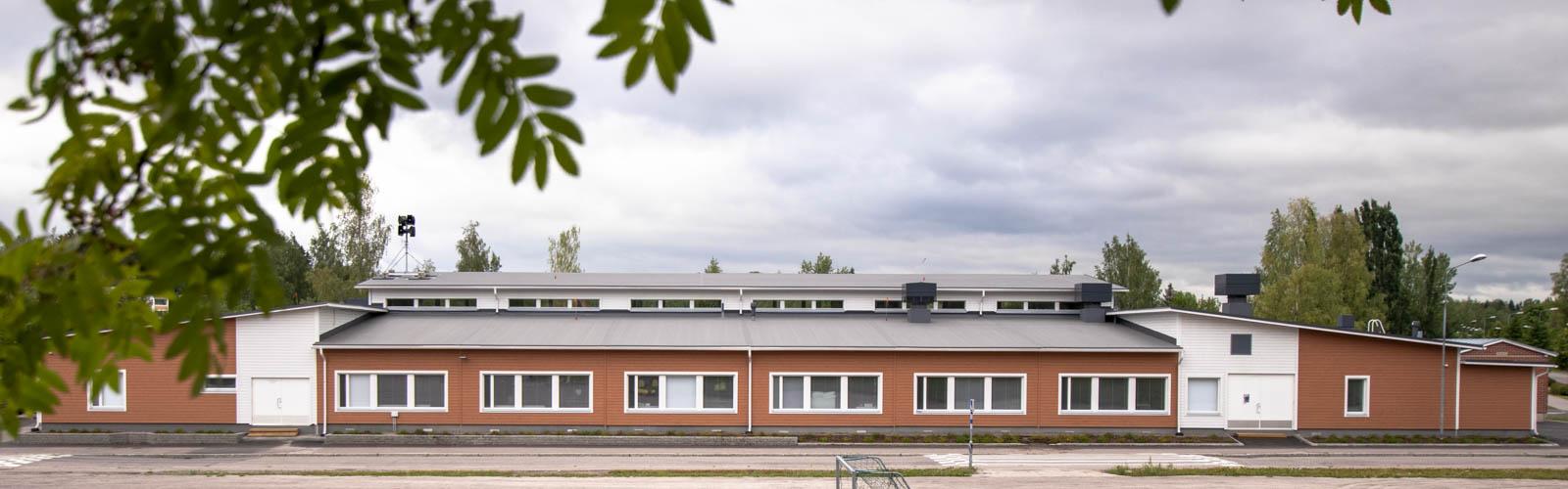 opetustilarakennus moduulikoulu