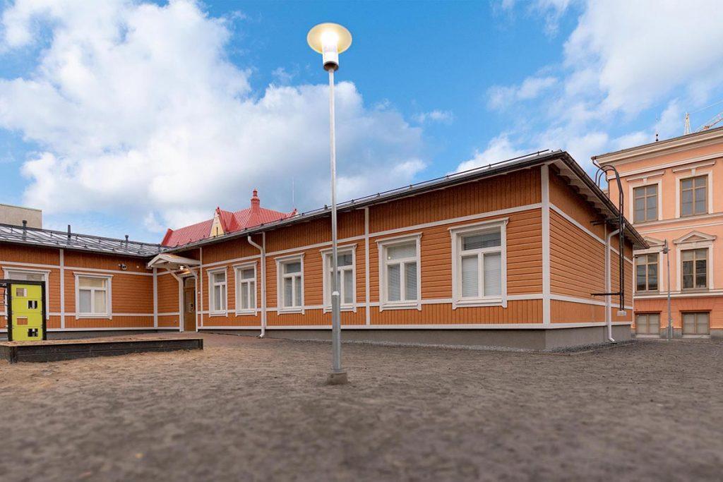 Koulurakennus moduulikoulu koulurakentaminen moduulirakentaminen.