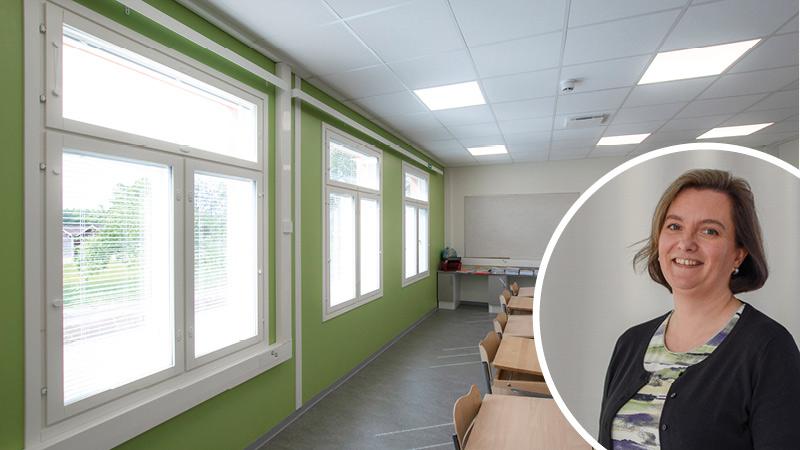 vihrea koulu Heidi Karlsson