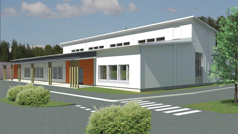 opetustilat koulurakennus moduulikoulu moduulirakentaminen koulurakentaminen .