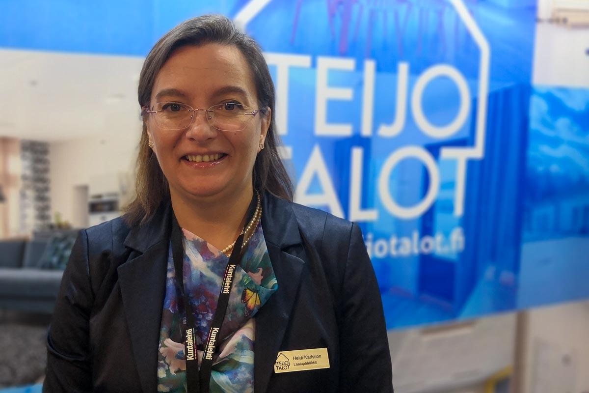 Laatupäällikkö Heidi Karlsson