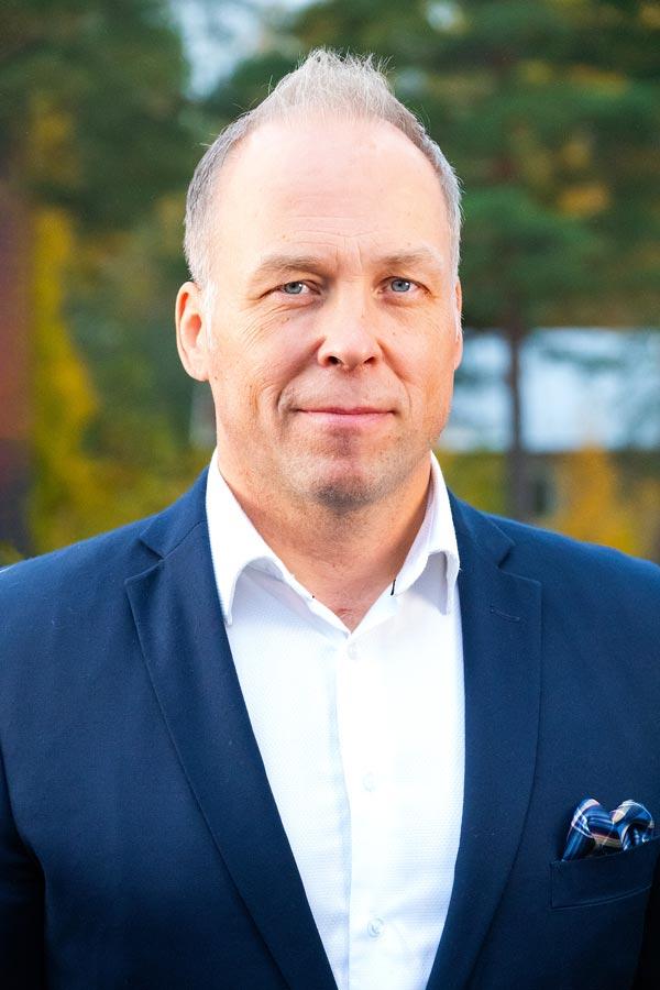 Ismo Laitakari toimitusjohtaja Teijo-Talot Oy
