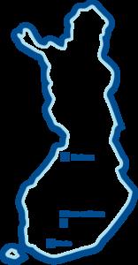 Teijo-Talot toimipisteet kartta