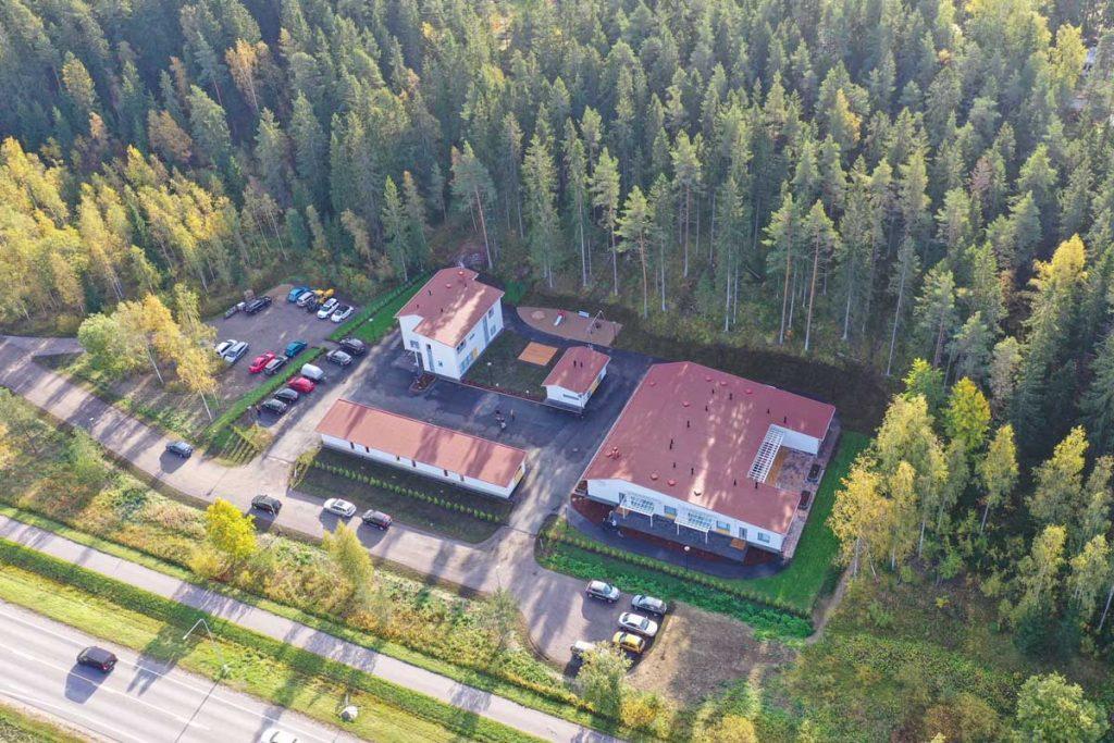 Perhekuntoutuskeskus Kajon toimitilat